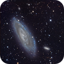 The Field of M106 at 0.75 a-s/px,                                Terry Danks