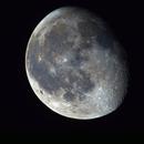 Gibbous Moon,                                astromaverick