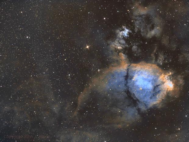 Fish Head Nebula/IC 1795,                                John Kroon