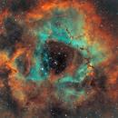 The Rosette nebula in SHO from an urban sky in Alicante,                                Luis M. Gutiérrez