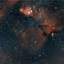 Cone Nebula Area, HOO,                                Stephen Garretson