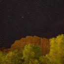 Zion Nightscape - View Towards The Watchman,                                JDJ