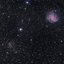 NGC 6946 (Fireworks Galaxy) and NGC 6939,                                Anirban Ray