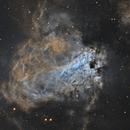M17 - Omega Nebula SHO,                                Mike Hislope