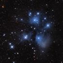 M45 Pleiades,                                Nic Doebelin