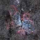 Eta Carinae,                                drakth