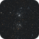 Double Cluster in Perseus,                                Blueastrophotography