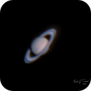 Saturn OSC single 3 min Stack  (Finally Figured out some type of Planetary Imaging!!!!!),                                Brandon Tackett