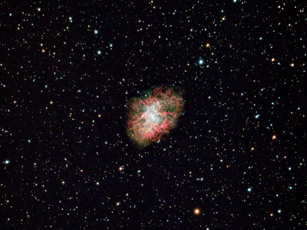 M1, The Crab Nebula,                                sungazer