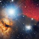 NGC 2024 - IC 434 - CHAMA e CABEÇA DO CAVALO,                                Irineu Felippe de Abreu Filho