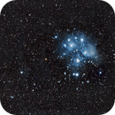 Pléiades M45,                                FHoTo