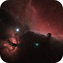 Horsehead in HSS narrowband,                                Kevin Parker
