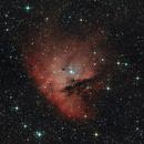NGC 281 - Pacman Nebula,                                Frank Breslawski