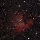 NGC 281 : nebuleuse pacman,                                Albinszten