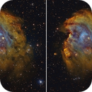 NGC2174 Monkey Head SHO Stereo Pairs,                                Serge Caballero