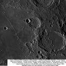 Lune : Région autour du mur droit 15/10/14 Newton 625mm, barlow 2, filtre IR685 Luc CATHALA,                                CATHALA Luc
