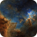 Center of the Heart Nebula,                                Tim Polk