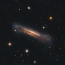 Hamburger Galaxy NGC 3628 LRGB,                                Centenojoel