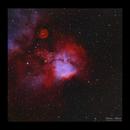 Skull and Crossbones Nebula NGC2467,                                Göran Nilsson