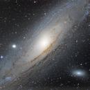 M31 LRGB with DSLR,                                Xplode