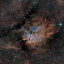 SH2-86 / NGC6820 in SHO,                                Elvie1