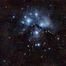 M45 - The Pleiades - A Surprising Reprocess,                                Jon Rista