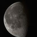 Morning moon at daylight // 4 pieces mosaic,                                Olli67
