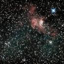 The Bubble Nebula NGC 7635,                                MikeHuerto