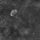 NGC 6888 - La nébuleuse du Croissant HOO,                                Nicolas Aguilar (Actarus09)