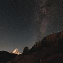 Voie lactée au-dessus du Cervin, Zermatt,                                Christophe Perroud