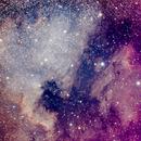 NGC7000 + IC5067/IC5070,                                Stéphane Carlin