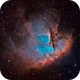 The Pacman Nebula in Modified SHO (NGC 281),                                Greg Nelson