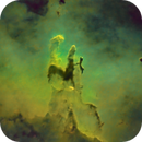 25 min data - Pillars of Creation from backyard,                                Ray's Astrophotog...