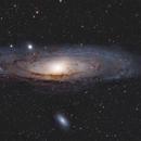M31, Andromeda galaxy ,                                Firas Haki