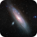 M31 Andromeda Galaxy [Ha,SII,OIII]LRGB,                                Chris Heapy