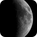 Six Days Old Moon,                                astropical