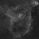 IC 1805 - Heart Nebula Ha,                                Mike Hislope