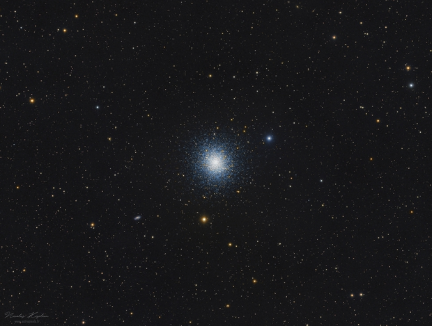 M13 Widefield, The Great Globular Cluster in Hercules,                                Nicolas Kizilian
