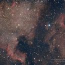 North America and Pelican Nebulae,                                Kristopher Setnes