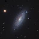 NGC 2841 (UMa) Flocculent Spiral  in LRGB,                                Ben Koltenbah