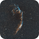 C33 Eastern Veil Nebula-HOO (modified),                                Adel Kildeev