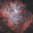 NGC 1491 - Fossil Footprint Nebula - Sh2-206 - LBN 704/705,                                pete_xl