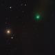 C/2019 U6 Lemmon - Approaching Messier 87 Virgo Galaxy and Messier 90  :-),                                Daniel Nobre