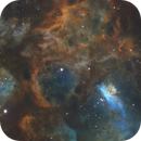 Into the core of NGC6357,                                Andrew Klinger