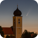 Comet Neowise with the Church,                                Markus A. R. Lang...