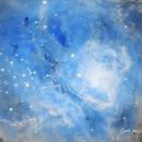 M8 Core of Lagoon Nebula,                                Carl Weber