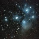 The Pleiades (M45),                                dswtan
