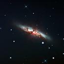 """M82 """"Cigar Galaxy"""",                                Ed Albin"""