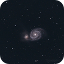 QHY9C first light on M51 5-5-2013,                                Gardner D. Gerry