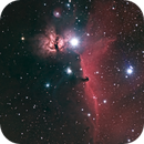 IC434 Horsehead and Flame Nebula in HaRGB,                                Roland Schliessus